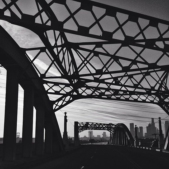 This is our bridge. Shot by the talented @beckytrejo and edited by yours truly. #iheartLA